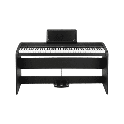 Korg B1SP-BK Digital Piano with Stand and 3 Pedal Unit