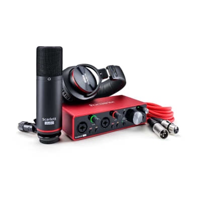 Focusrite Scarlett 2i2 Studio 3rd Gen 2-in, 2-out USB Audio Interface