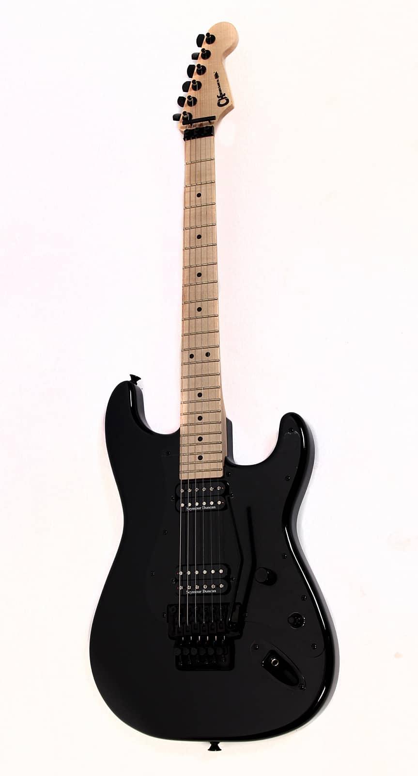 charvel so cal style 1 hh electric guitar black dimarzio reverb. Black Bedroom Furniture Sets. Home Design Ideas