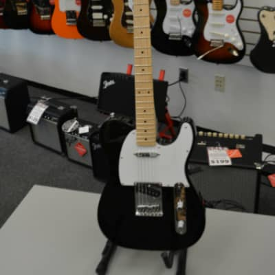 Squier Affinity Telecaster Black for sale