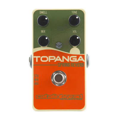 Catalinbread Topanga Spring Reverb Guitar Effects Pedal for sale