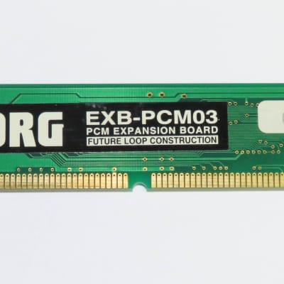 "Korg EXB-PCM03 ""Future Loop Construction"" Expansion Board for Triton & Karma!"