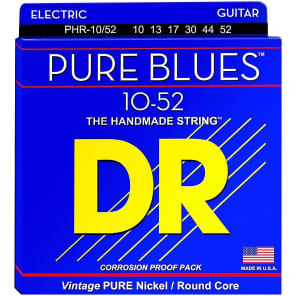 DR Strings CBE-9//46 K3 Coating Cool Blue Coated Electric Guitar Strings 9-46