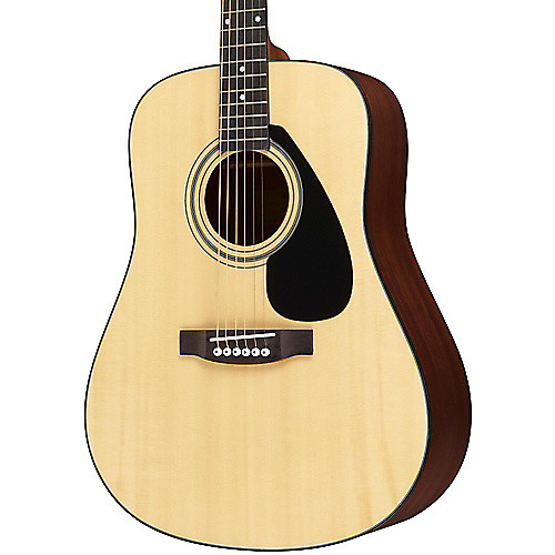 Yamaha solid top dreadnought acoustic guitar w hard case for Yamaha solid top
