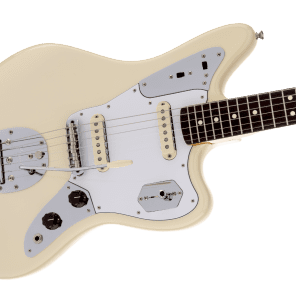 NEW! Fender Johnny Marr Jaguar Olympic White Finish - Original Case - Authorized Dealer! for sale