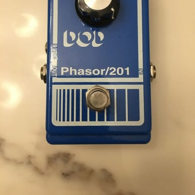 DOD Phasor 201 Original Analog Phase Shifter Rare Vintage Guitar Effect Pedal for sale