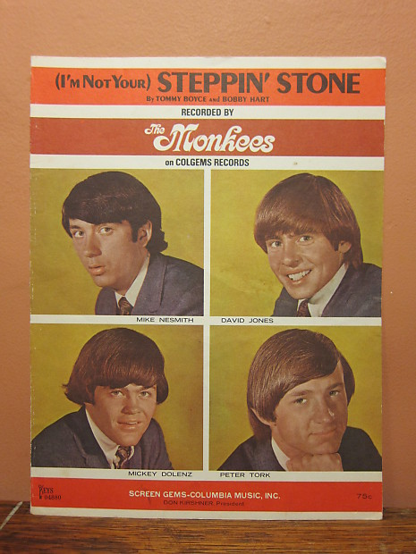 The Monkees (I'm Not Your) Steppin' Stone 1966