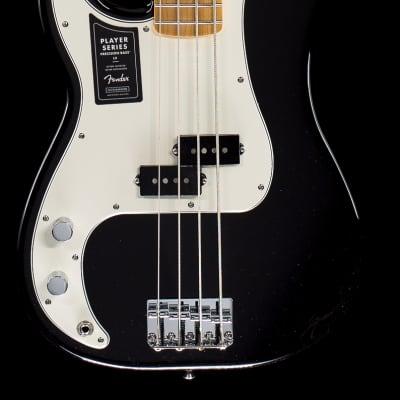 Fender Player Precision Bass Black Lefty Maple (460)