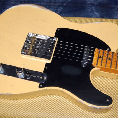 NEW! 2019 Fender Heavy Relic Custom Shop 51 NoCaster NoCaster Blonde Handwound P/Us Modern Spec for sale