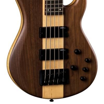 Dean Edge Select Pro 5-String Bass, Walnut Satin Natural, EP5 SEL WAL