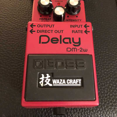 Boss DM-2w Analog Delay Waza Craft Edition New in Box