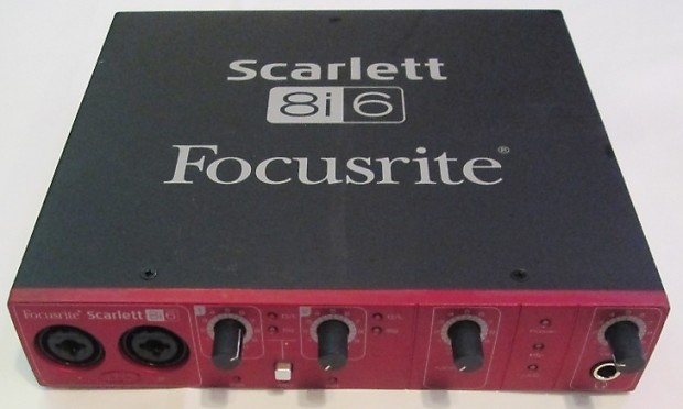 Focusrite Scarlett 8i6 USB 2.0 Audio Driver FREE