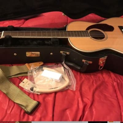 Fender Fender Paramount Series Acoustic Guitar PM-2 Natural Barely Played for sale