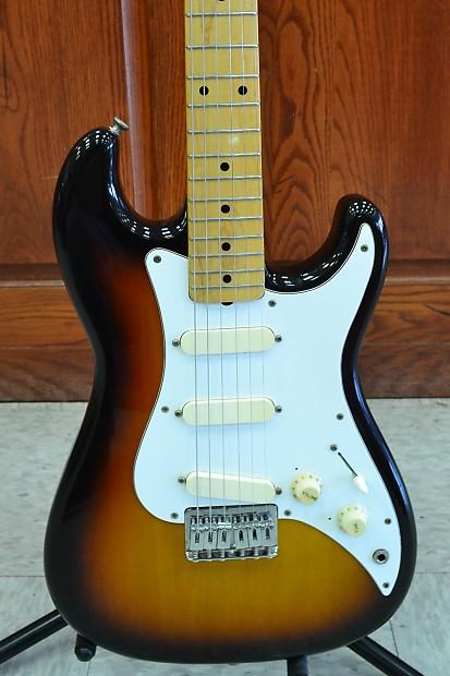 fender squier bullet 1 6 string electric guitar japan sq reverb. Black Bedroom Furniture Sets. Home Design Ideas