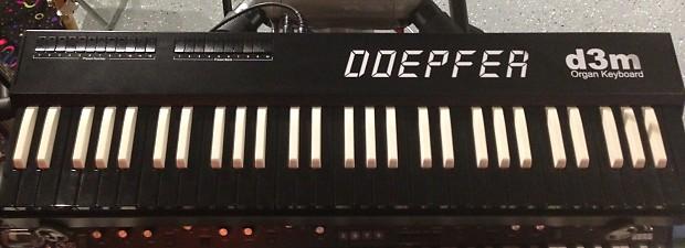 Doepfer D3m Organ Midi Controller keyboard