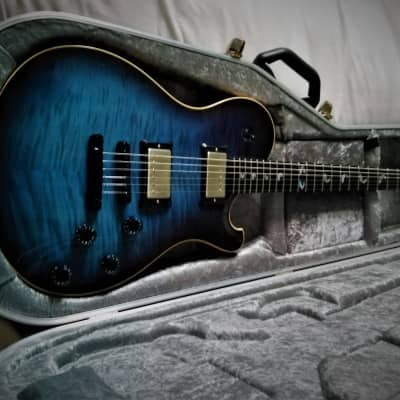 Seth Baccus  Nautilus Modern, 2015, Blue, Bare Knuckle  Pickups. for sale