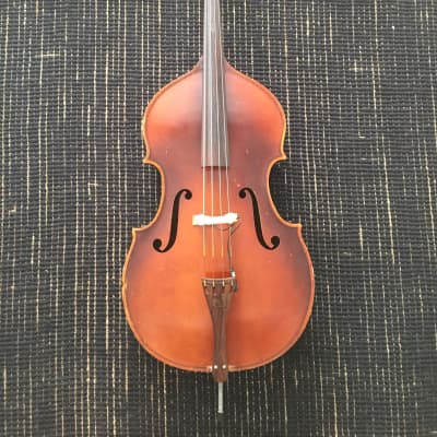 1951 Kay H10 Upright Double Bass 1/4 Size with pickup and soft padded case for sale