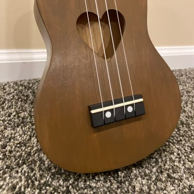 Beautiful Handmade Ukulele Walnut finish