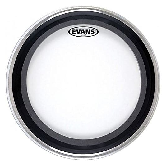 evans gmad clear bass drum head 22 melody music shop reverb. Black Bedroom Furniture Sets. Home Design Ideas