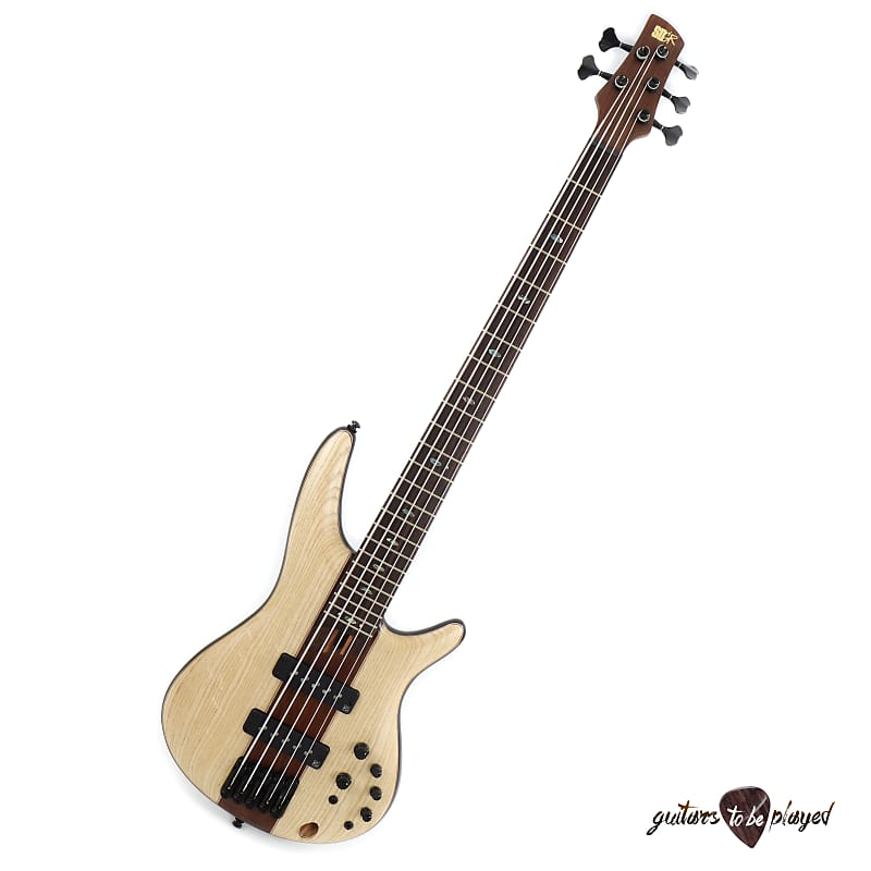 Ibanez SR1305E Premium 5-String Electric Bass - Natural Flat image