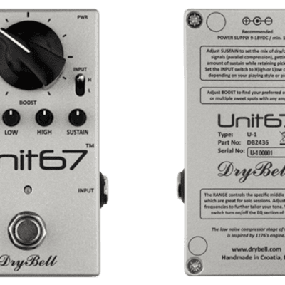 NEW! Drybell Unit 67 - Compression Boost FREE SHIPPING! for sale