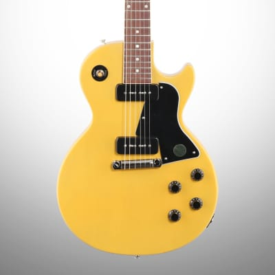 Gibson Les Paul Special Electric Guitar (with Case), TV Yellow