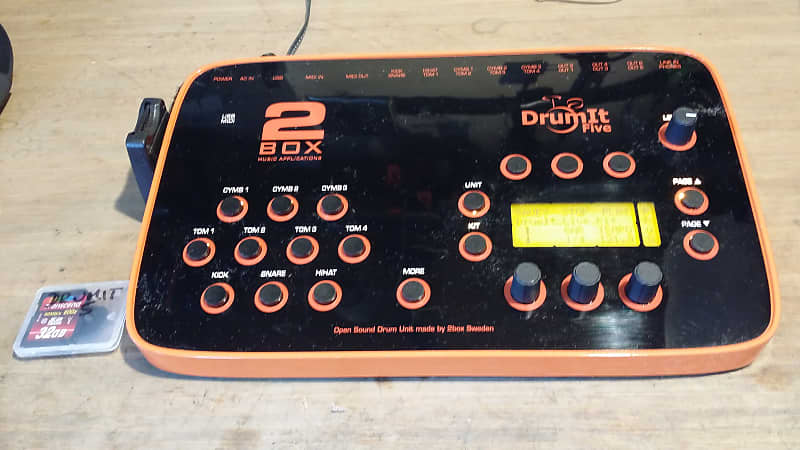 2Box Drumit Five (5) V-drum Module w/ External SD card slot  Unlimited #of  storage