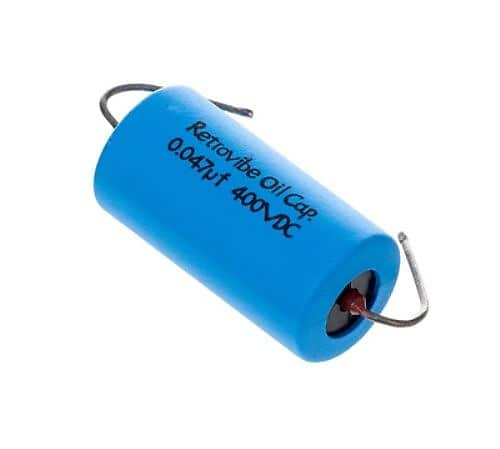 Oil Capacitor 0.047mf 400 VDC More Dynamics Montreux Retrovibe