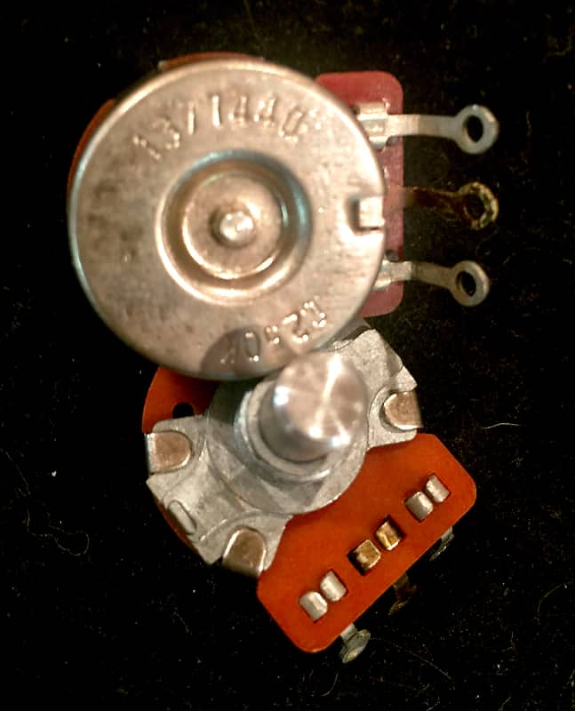 Matching Pair Of New Old Stock 1974 CTS 250K potentiometers For Fender  Telecaster Precision Bass