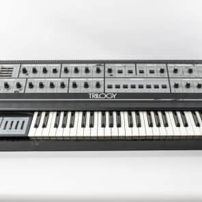 Crumar Trilogy 3-Section Polyphonic Analog Synthesizer