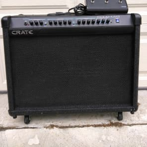 "Crate GTD120 3-Channel 120-Watt 2x12"" Solid State Guitar Combo with DSP Effects"