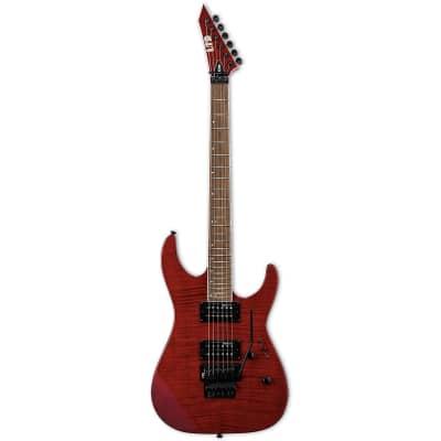 ESP LTD M-200FM See Thru Red STR Electric Guitar B-Stock M-200 FM M200FM M 200 for sale