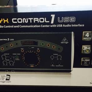 Behringer Xenyx CONTROL1USB Studio Control Center