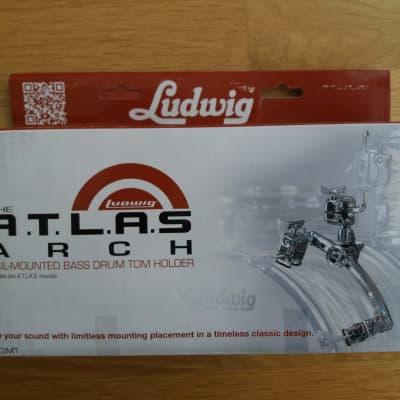 Ludwig LAC2983MT Atlas Arch Rail Mount Assembly Chrome