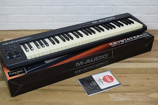 e6f67390a Description  Shop Policies. Beautiful used M-Audio Keystation 61 Mk2 controller  piano for sale ...
