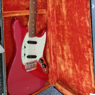 1964 Fender Duo-sonic II Pre CBS Dakota Red Duo Sonic...L Serial Number