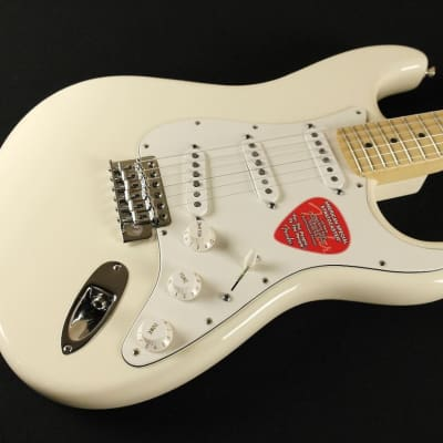 Fender American Special Stratocaster Maple Fingerboard - Olympic White - 0115602305 (850) for sale