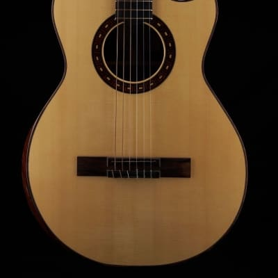 Applegate Custom Presentation Nylon String Crossover Guitar with Classical Bracing 2017 Natural for sale