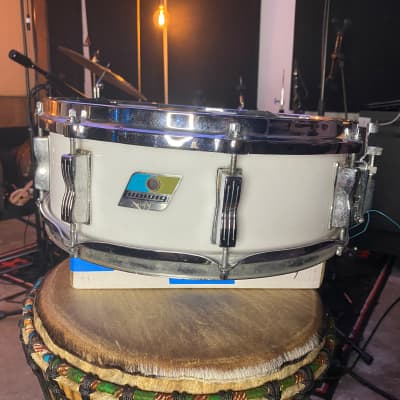 "1970s Ludwig Vistalite ""Jazz Festival"" 5x14"" 8-Lug Snare Drum with Single-Color Finish"
