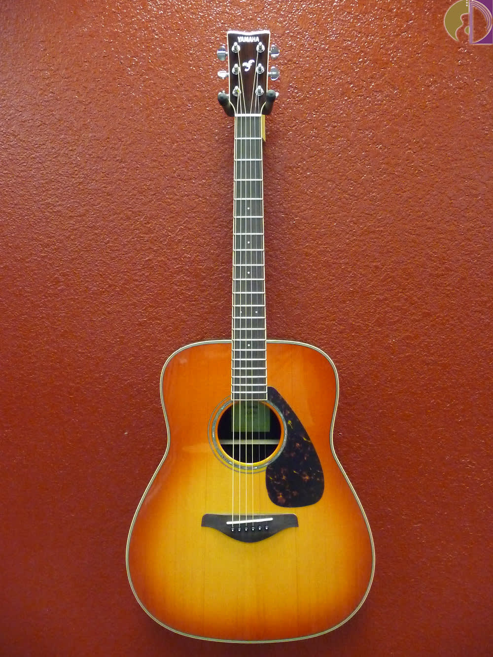 Yamaha fg830 dreadnought acoustic guitar autumn burst for Yamaha fg830 specs