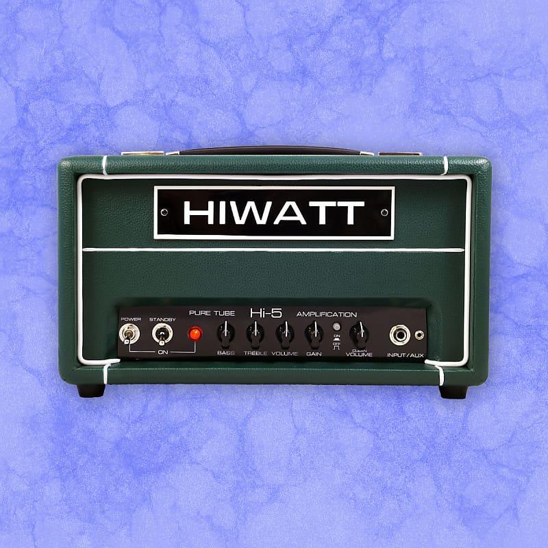 Hiwatt Limited Edition Hi-5 420 Head in Green Tolex