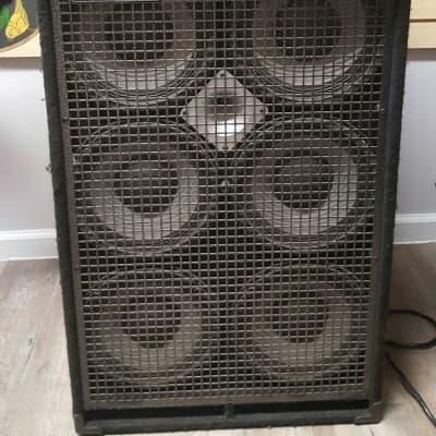 SWR Swr 750x Bass Goliath Senior 4 6x10 Bass Speaker Cabinet