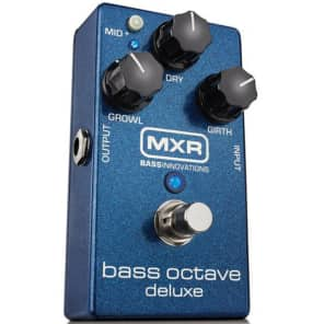 MXR M288 Bass Octave Deluxe Pedal for sale