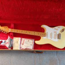 Fender American Vintage '57 Stratocaster 1988 VWH/Cream 1957 ri reissue gorgeous w/case, candy