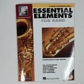 Hal Leonard Essential Elements for Band - Bb Tenor Saxophone Book 1 with EEi