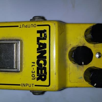 Ibanez FL-301 Flanger 79-80 yellow