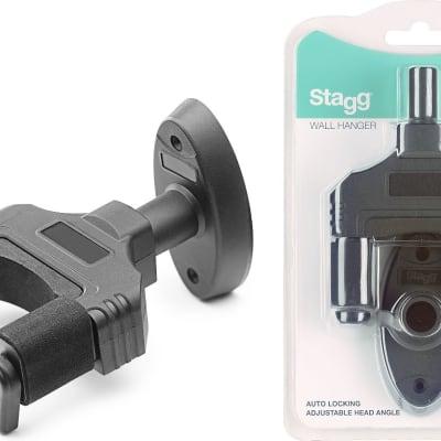 Stagg  Auto Locking  Stringed Instrument Wall Hanger - GUH-TRAP