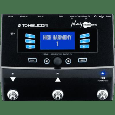 TC Helicon Play Acoustic Vocal Bliss & Rich Acoustic Tone Multi-Effect Unit