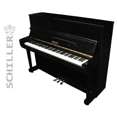 Schiller  Performance Frankfurt Upright Piano Black Polish