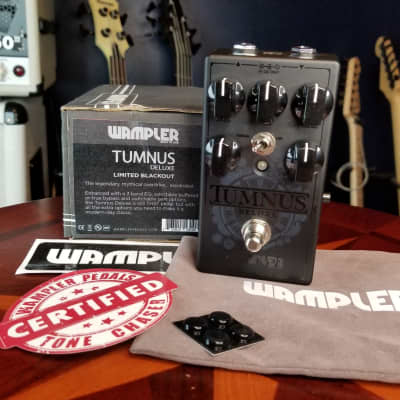 Wampler Tumnus Deluxe 2019 Blacked Out